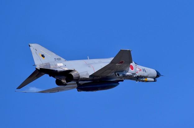写真: 新田原基地航空祭予行。。第301飛行隊F-4ファントム AGGデモストレーション2