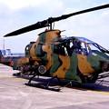 Photos: 小牧基地オープンベース。。地上展示陸上自衛隊AH-1Sコブラ・・20150315