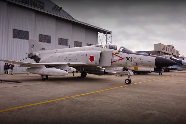 小牧基地オープンベース。。岐阜の航空自衛隊60周年白ファントム地上展示1・・ 20150315
