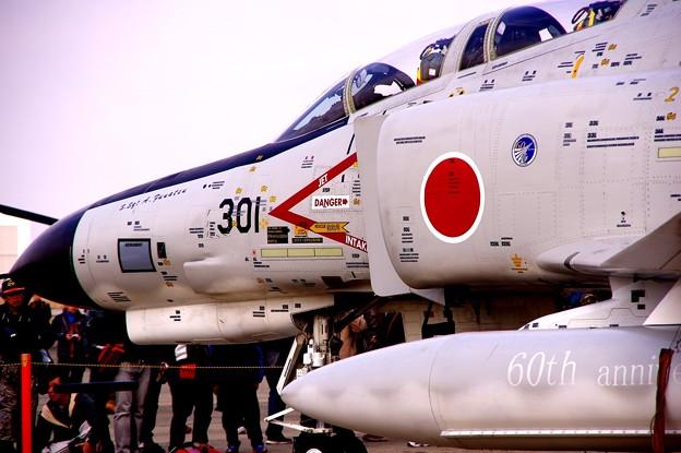 小牧基地オープンベース。。岐阜の航空自衛隊60周年白ファントム地上展示4・・ 20150315