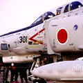 Photos: 小牧基地オープンベース。。岐阜の航空自衛隊60周年白ファントム地上展示4・・ 20150315