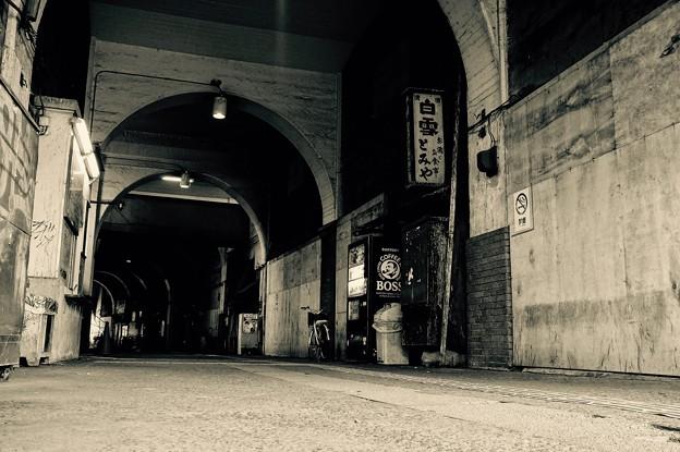昭和時代の雰囲気。。鶴見線国道駅。。20160206