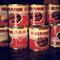 Photos: 昔は庶民な缶詰め。。マルハの鯨の缶詰め。。江戸東京たてもの園 20160313