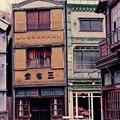 路地から見た町。。まるで絵のような。。江戸東京たてもの園 20160313
