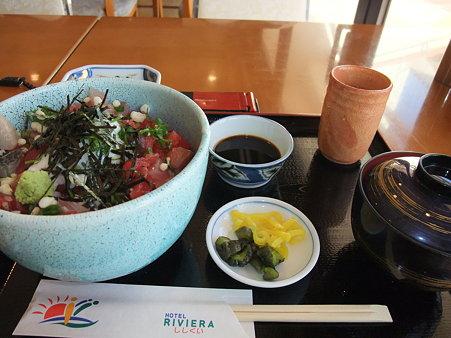 まかない丼(道の駅・宍喰温泉【徳島】)