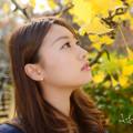 Photos: MINA銀杏横顔アップ