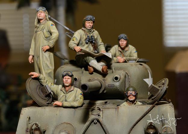 戦車兵アップ