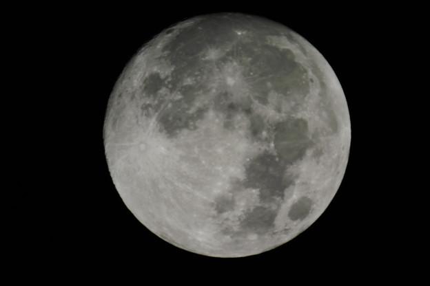 皆既月食前の試し撮り
