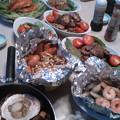 Photos: 夕食 調理済み焼肉他です(^_^;)