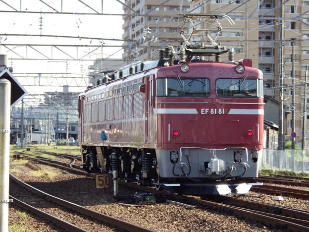 奥羽本線~EF81‐81単機 vol.3