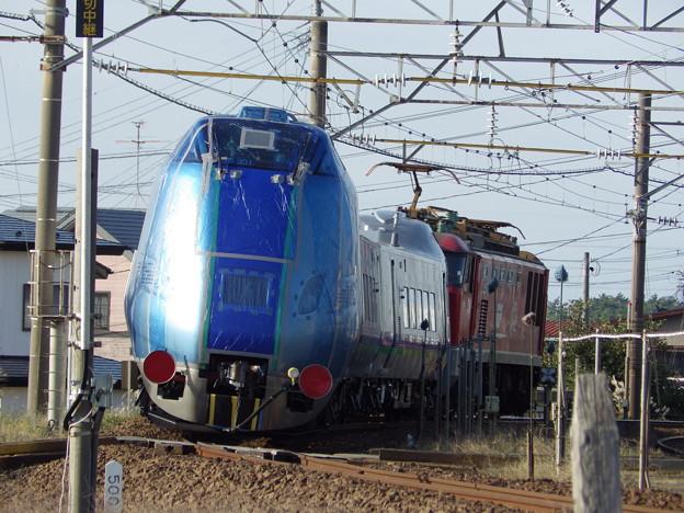 EF510‐17牽引 キハ285系・甲種輸送~後追い