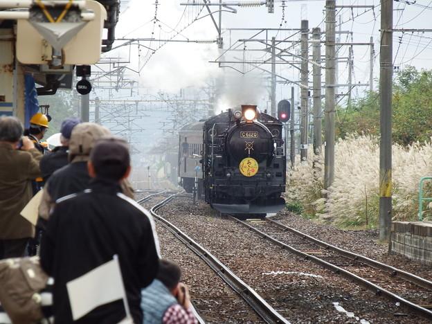 SLあきた路号 追分駅入線 vol.3