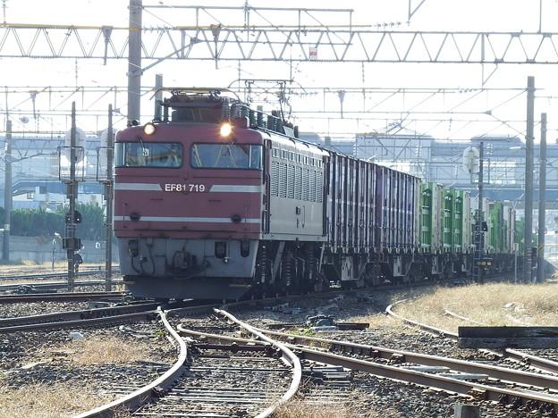 EF81‐719牽引 1657レ