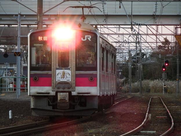 701系N103編成 奥羽本線110周年記念なつかしのギャラリー列車2号 vol.2