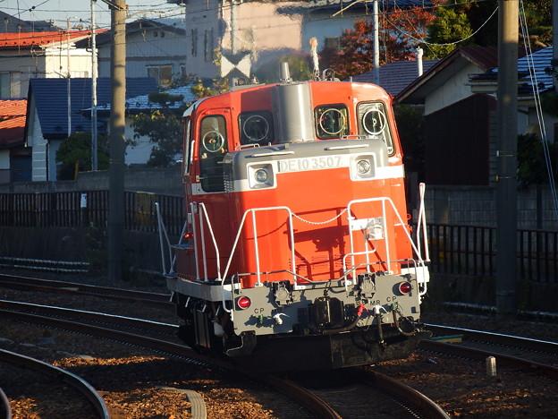 Photos: DE10-3507 後追いII