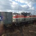 Photos: 奥羽本線車窓風景~入換作業のDE10-1197