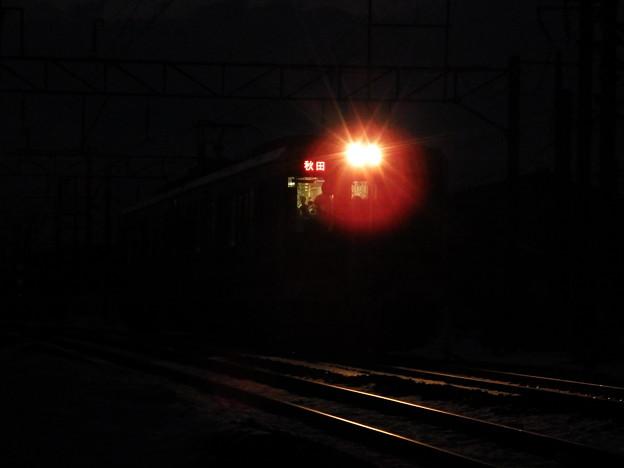 軌条の輝きと701系