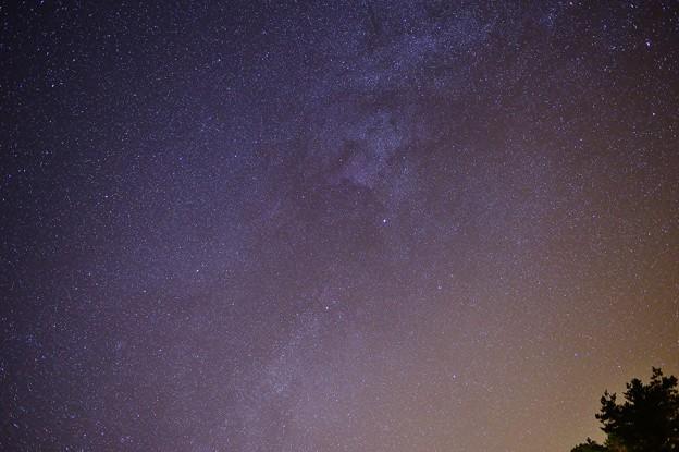 北アメリカ星雲とデネブ