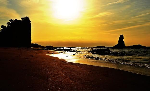 写真: 海の声が 聞きたくて・・・