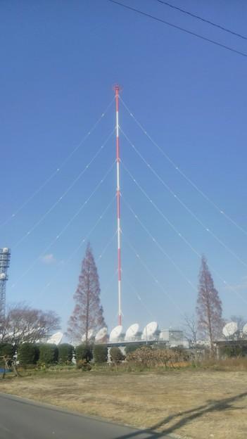 【12月12日は加須市へ!その11】NHKラジオ送信所に到着!