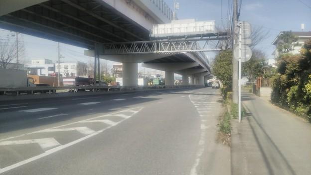 埼玉県八潮市、自転車が首都高速に入った場所周辺その3
