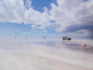 写真: ウユニ塩湖1
