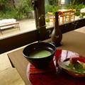 Photos: 抹茶と和菓子@遊鹿里茶屋
