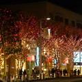 街全体が光に包まれる
