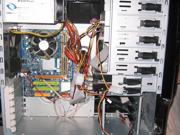 NINJA - Installed MoBo 11-4-09