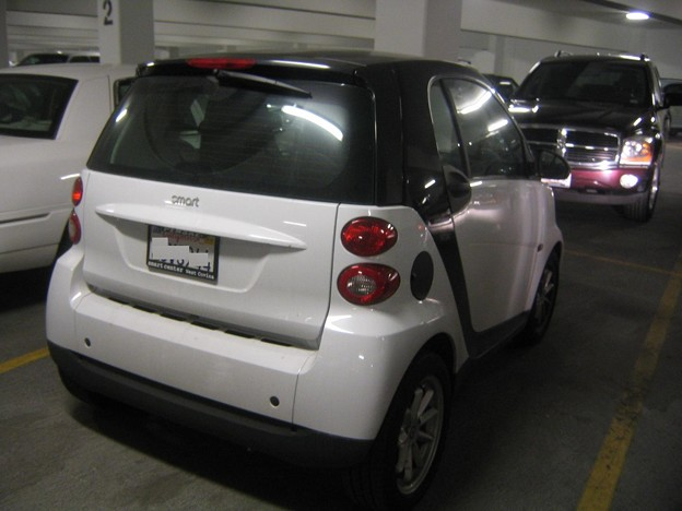 Smart at Monte Carlo Parking 12-11-09  2209