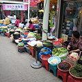 Photos: 温陽温泉駅そばの市場