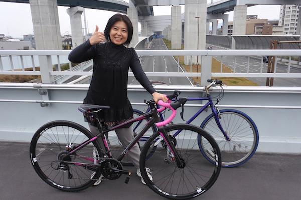 第二京阪道路と中央環状線の合流地点記念撮影