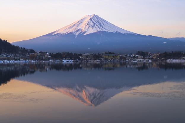 Mt fuji@Lake Kawaguchi