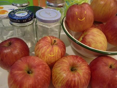 りんごジャム1