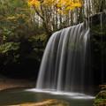 秋の鍋ヶ滝♪