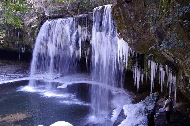 冬の鍋ヶ滝♪