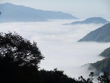 5合目から見る雲海