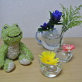 Photos: お花でティータイム