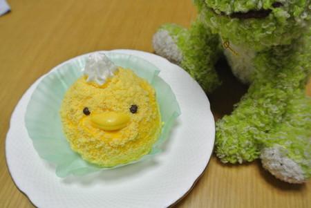 コロピヨのケーキ