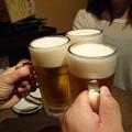 写真: さめ八 生ビール