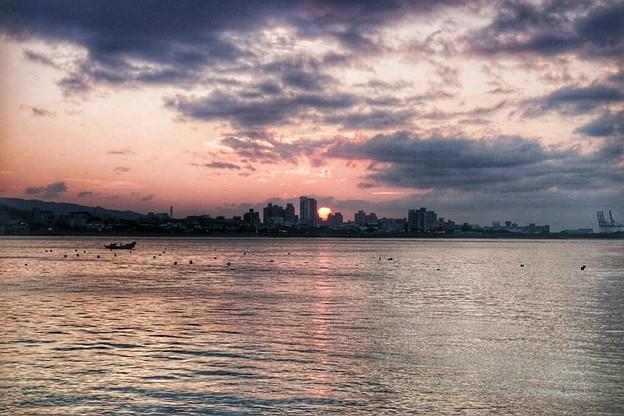 台北-淡水日落