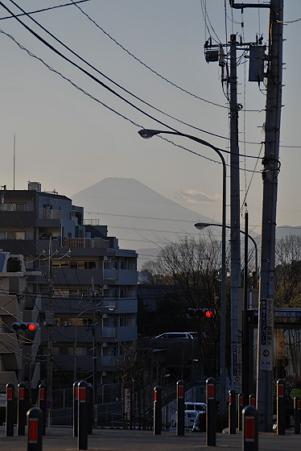 境木から見る富士山