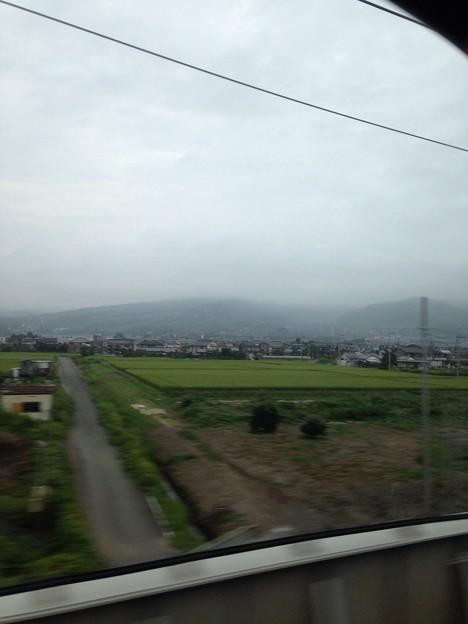 写真: 富士山見えない