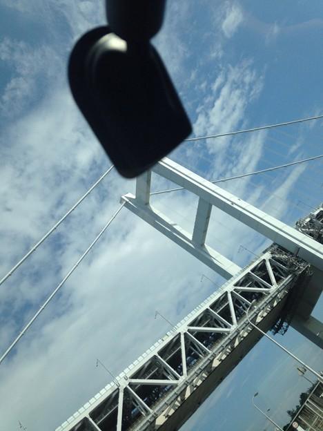 瀬戸大橋間近