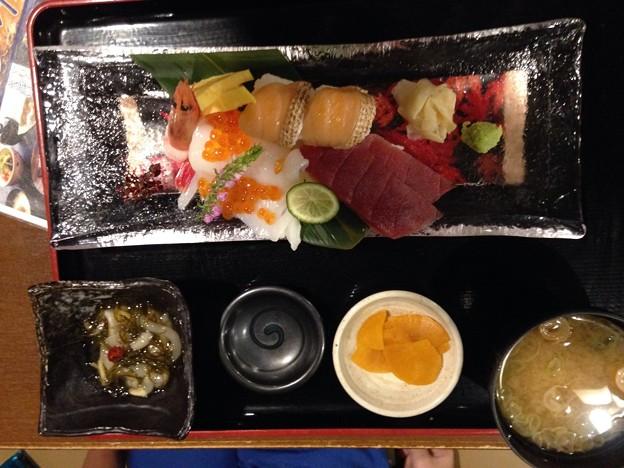 のっけ寿司御膳
