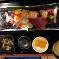 写真: のっけ寿司御膳