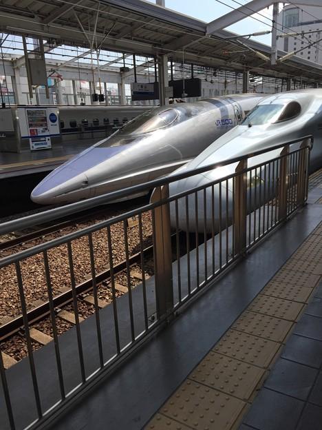 新幹線ダブル