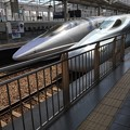 写真: 新幹線ダブル