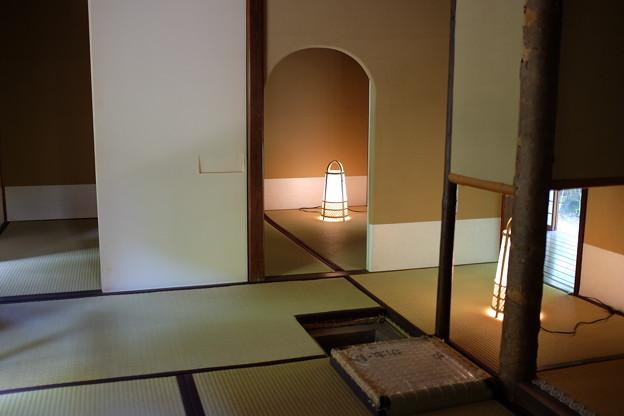 茶室と行灯