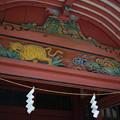 写真: 伊佐爾波神社の彫刻